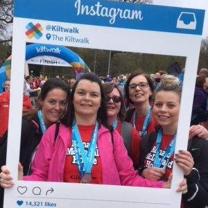 Kiltwalk Participants