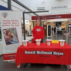 Fundraising stall